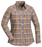Pinewood Cumbria shirt damesblouse Oranje/Paars_