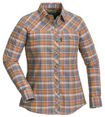 Pinewood Cumbria shirt damesblouse Oranje/Paars