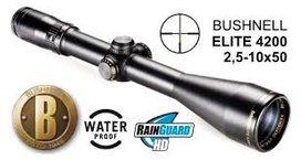 Bushnell Elite 4200 2,5-10x50 4A verlicht kruis