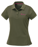 Pinewood Ramsey, Polo shirt dames groen