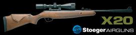 Stoeger Model x20 + Gamo 3-9x40 Richtkijker en schietkaarten (set)