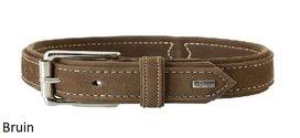 Hunter hondenhalsband Nubuckleder