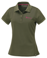 Pinewood Ramsey, Polo shirt dames groen